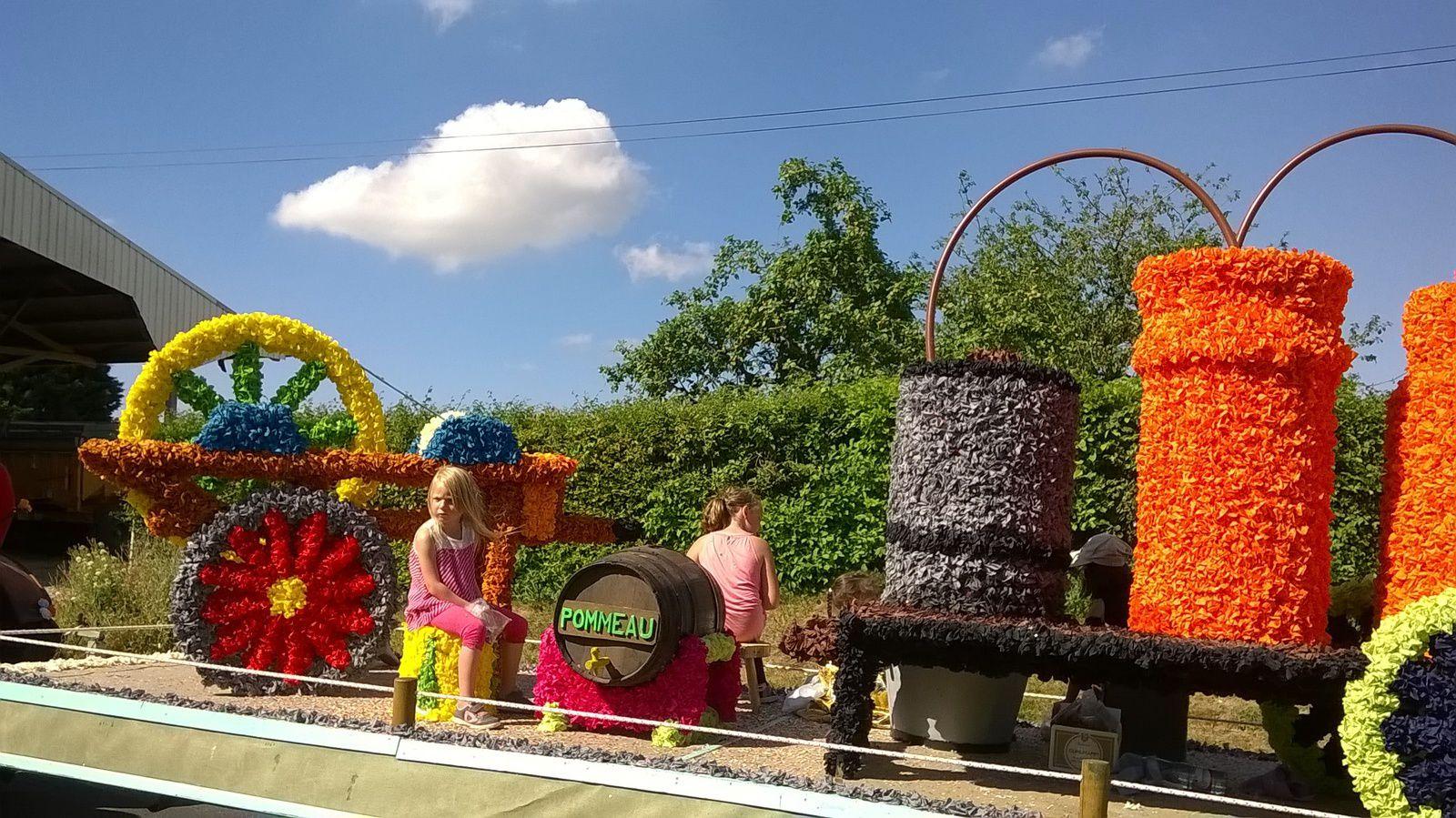Fête du village de Réalcamp au mois de juillet