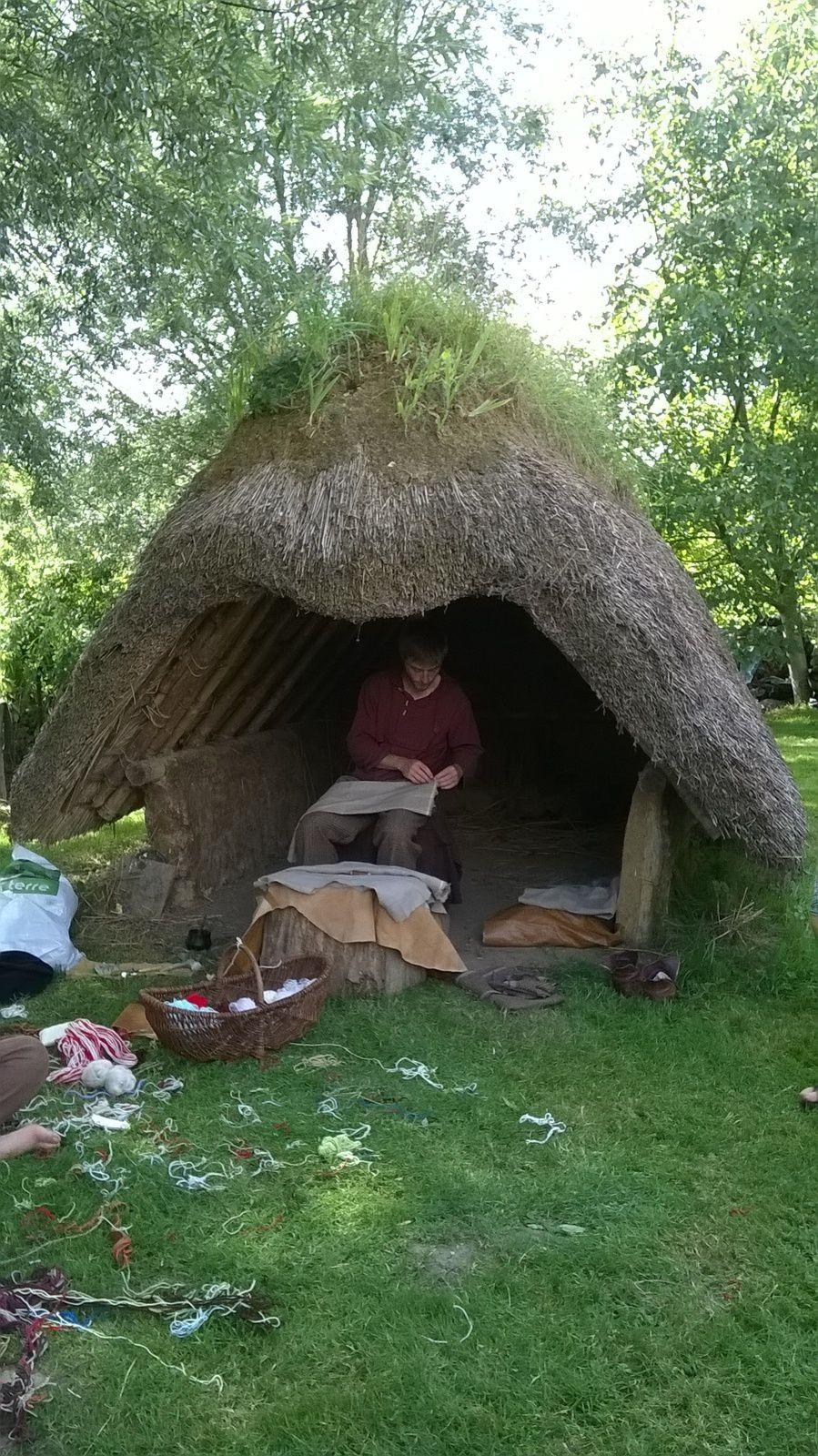 Retour sur le mois d'Aout : visite d'un site mérovingien au manoir de Blangy sur Bresle