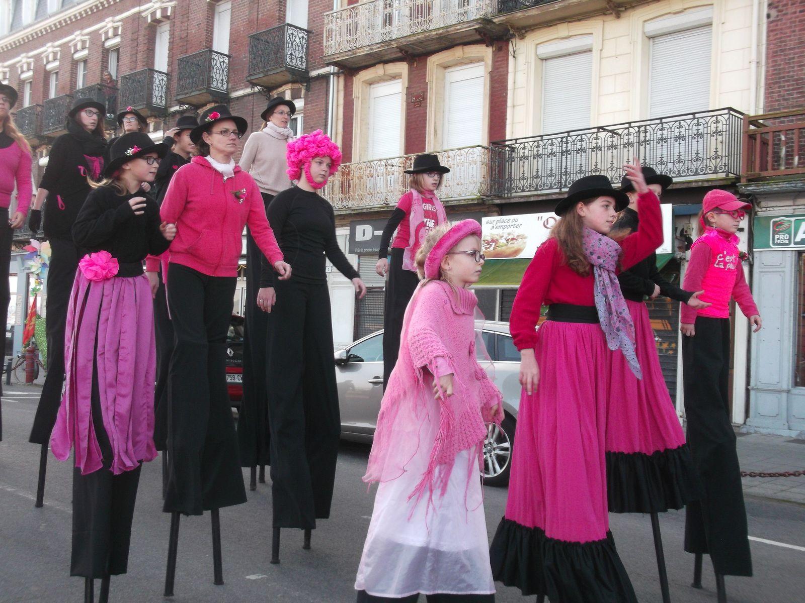 Retour en octobre pour le défilé d'octobre rose au Tréport (76)