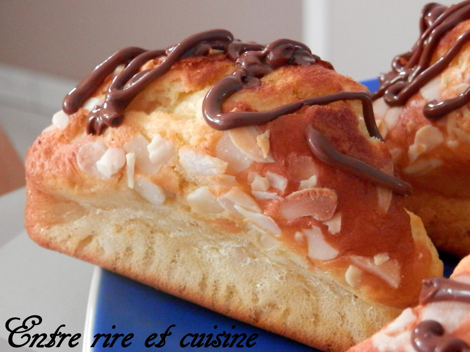 Gâteaux individuels aux 2 amandes
