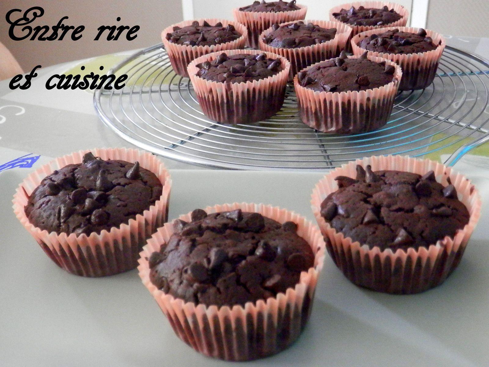 Muffins tout chocolat &quot&#x3B;comme au Mac Do&quot&#x3B;