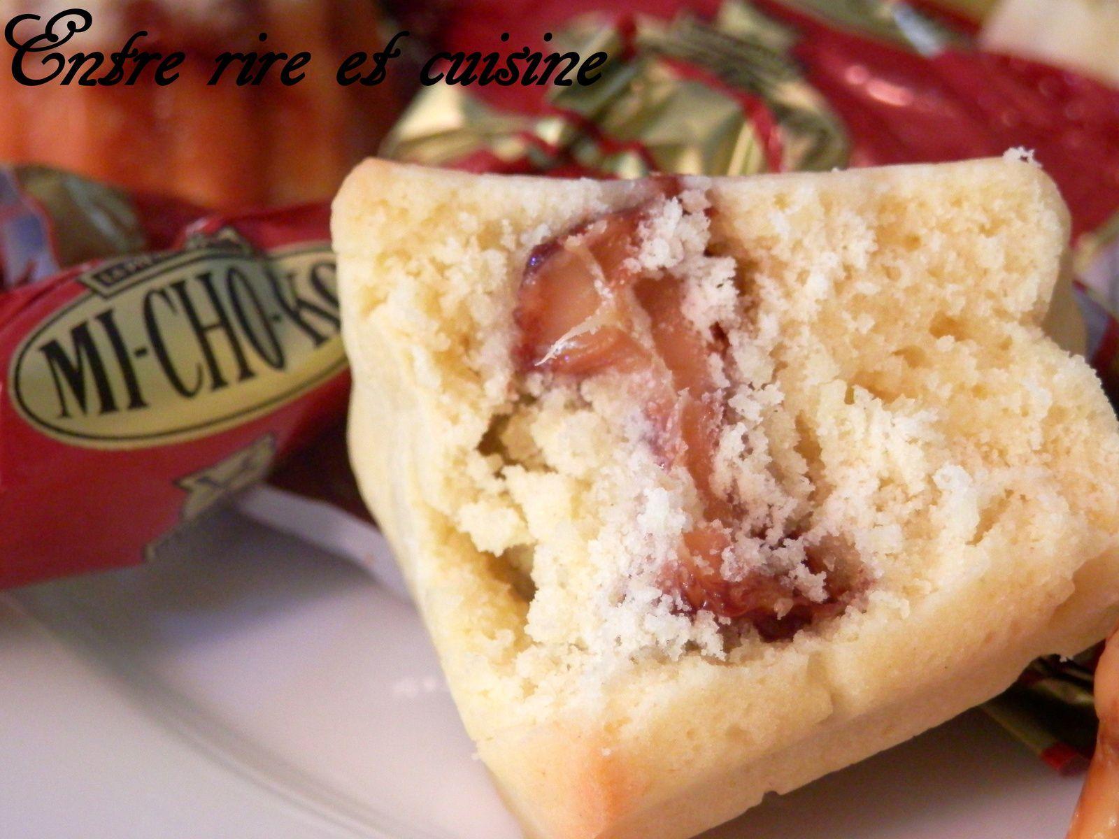 Mini-cannelés Cookies aux Mi-cho-ko