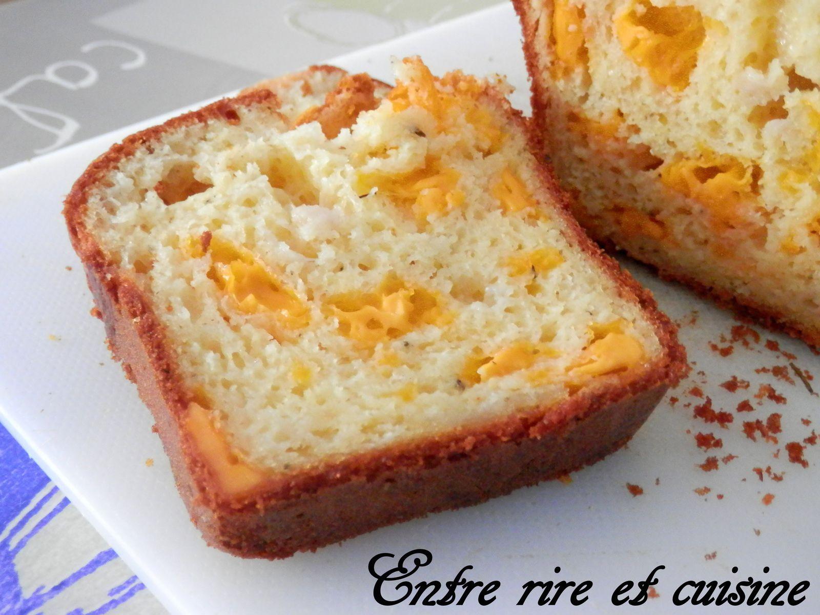 Cake aux 3 fromages (parfait pour l'apéritif)
