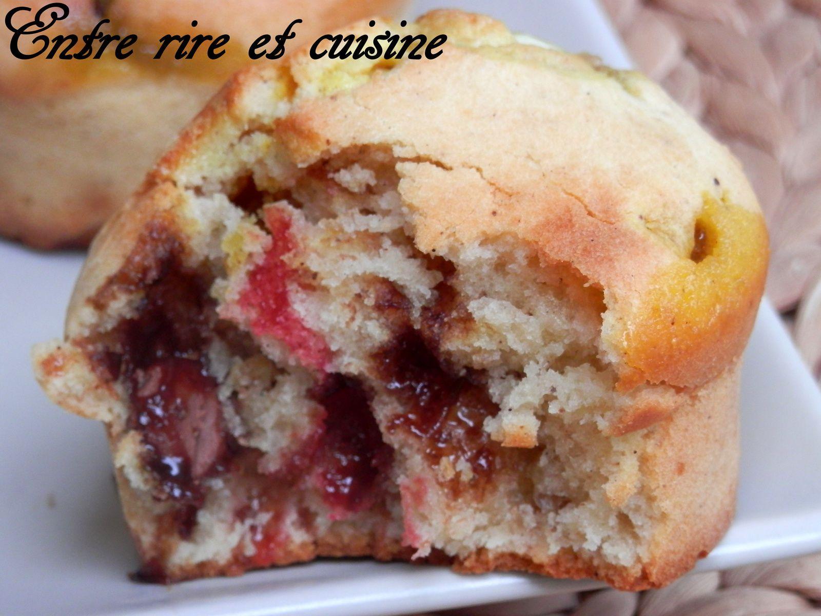 Muffins au Mascarpone et Smarties®