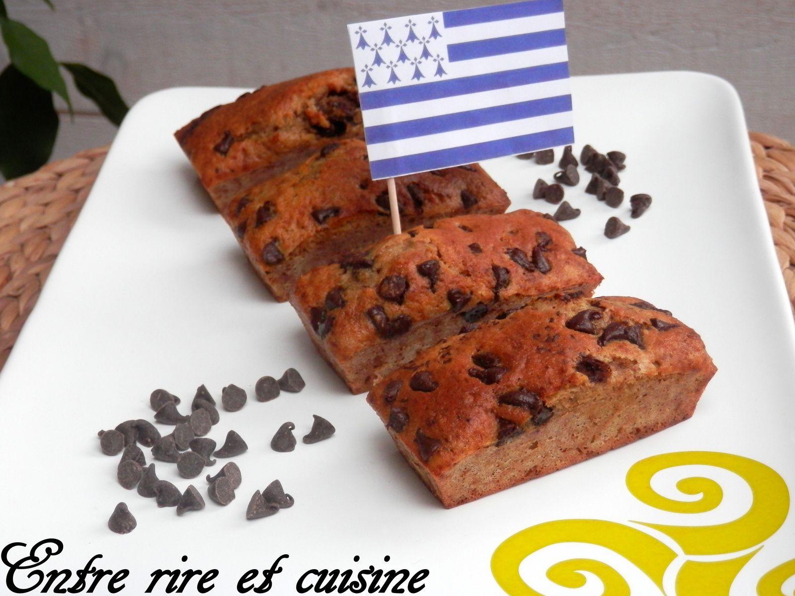 Cakes celtes à la farine de sarrazin, lait ribot et pépites de chocolat