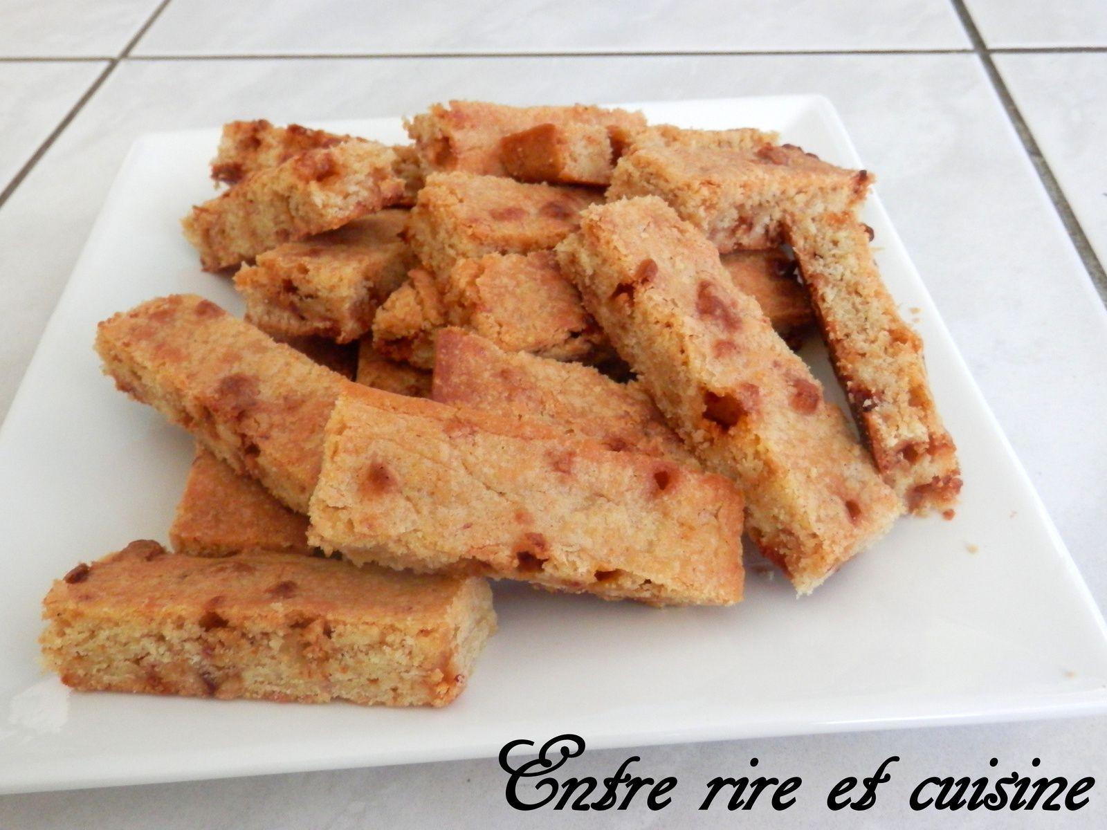 Cookies Sticks comme au Mac D...aux pépites de chocolat blanc goût &quot&#x3B;bonbon fraise&quot&#x3B;