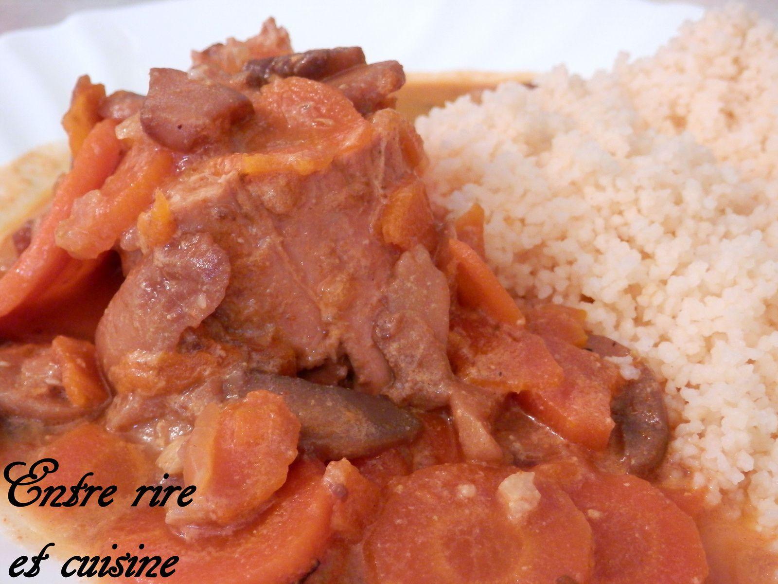 Filet mignon de porc braisé aux épices Tandoori
