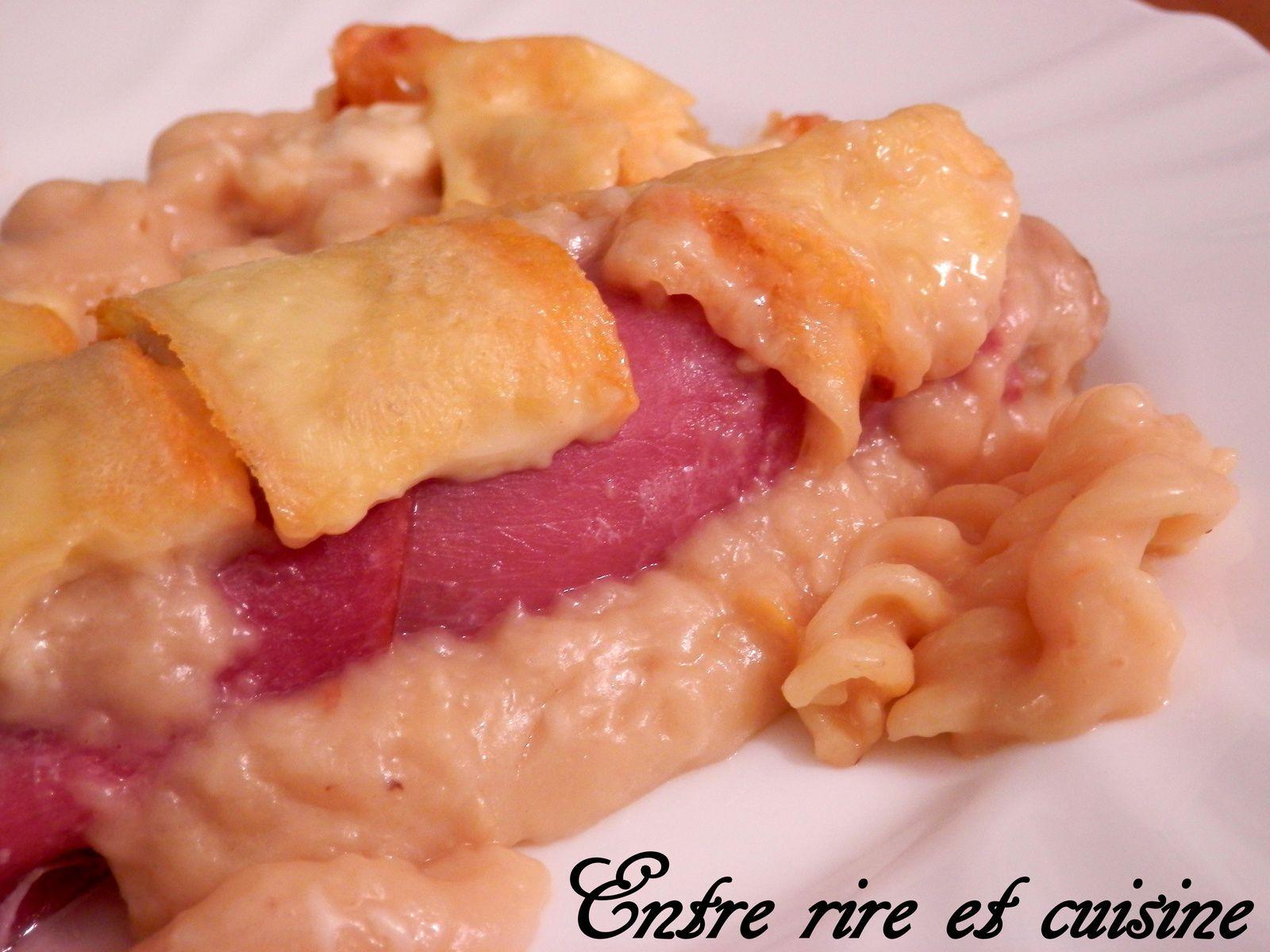 Endives au Bacon gratinées à la Raclette