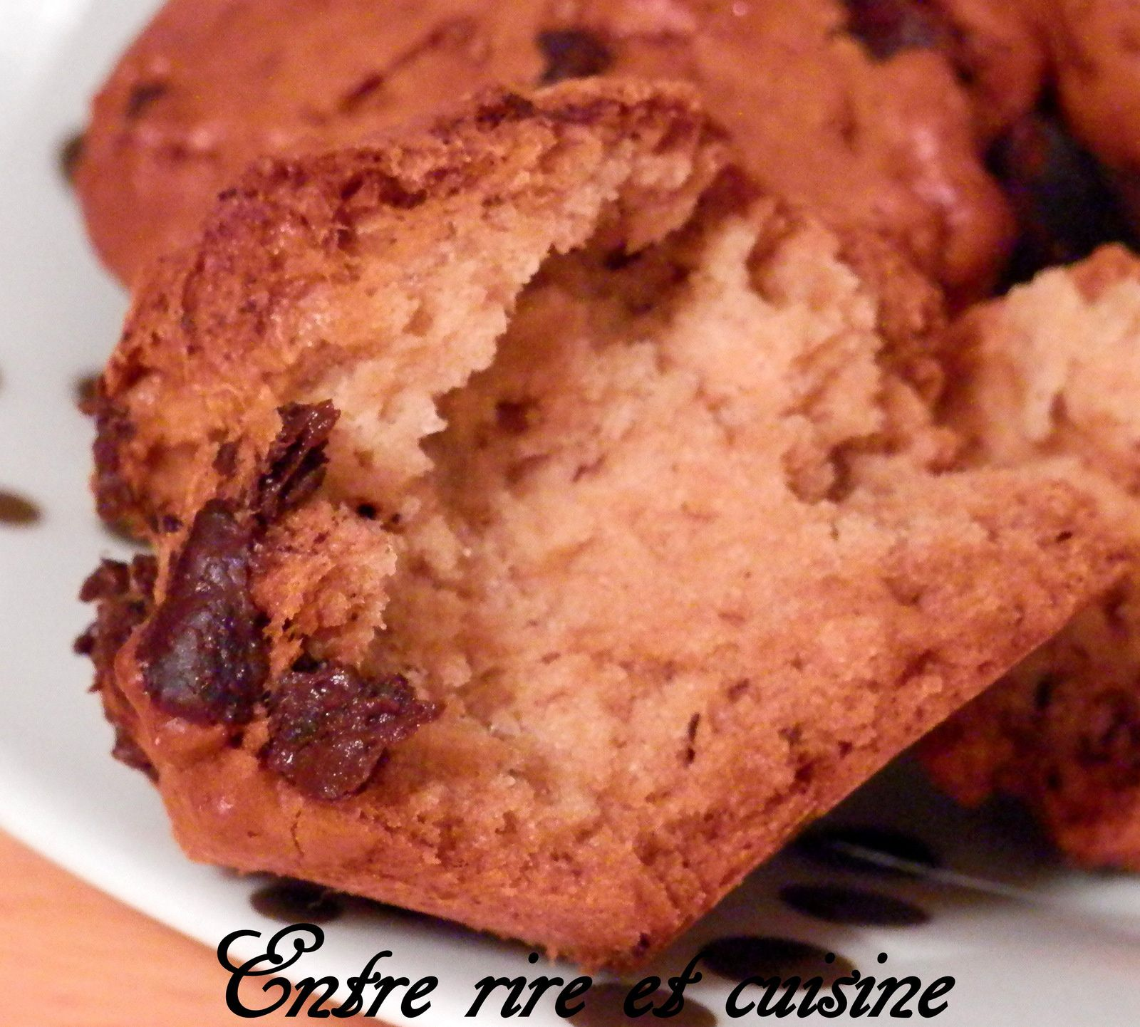 Biscuits moelleux Banane / Chocolat
