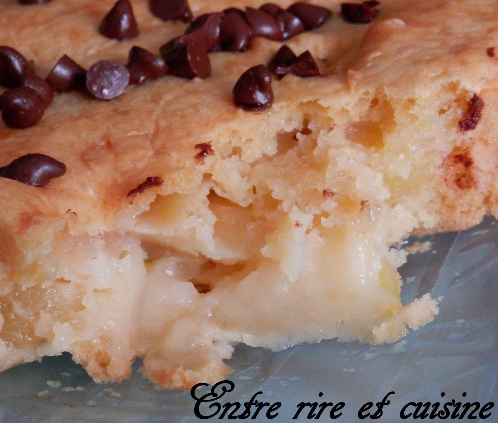 Gâteau léger et moelleux aux Pommes (sans oeufs)