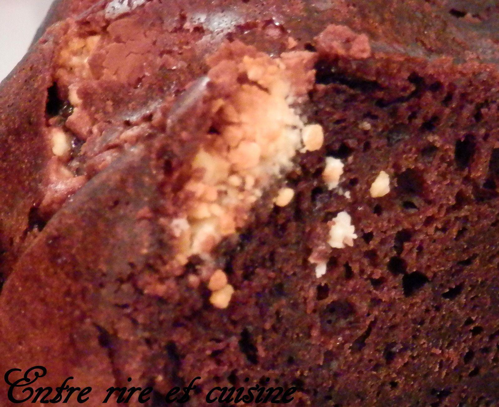Gâteau cacaoté aux Shokobons® (sans beurre)