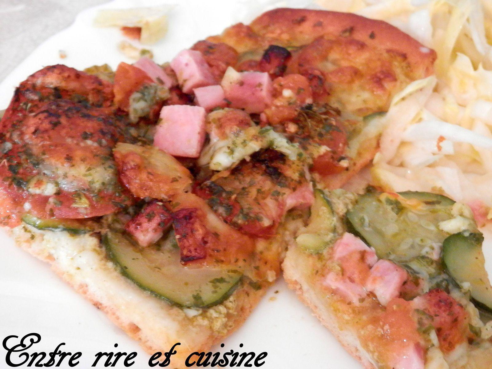 Pizza &quot&#x3B;ensoleillée&quot&#x3B; maison