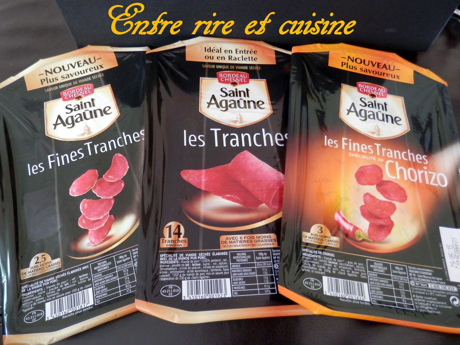 Galette de blé noir garnie {fromage et viande séchée St Agaûne} - Partenariat