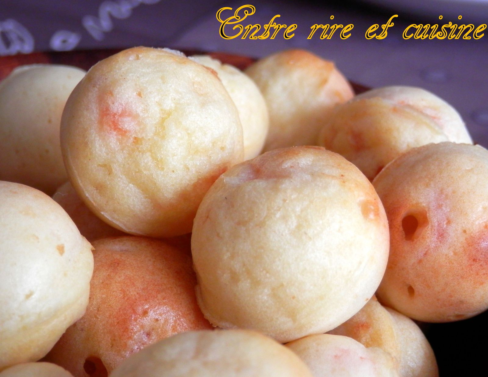 Pop cakes salés Saumon, Mascarpone et Grana Padano