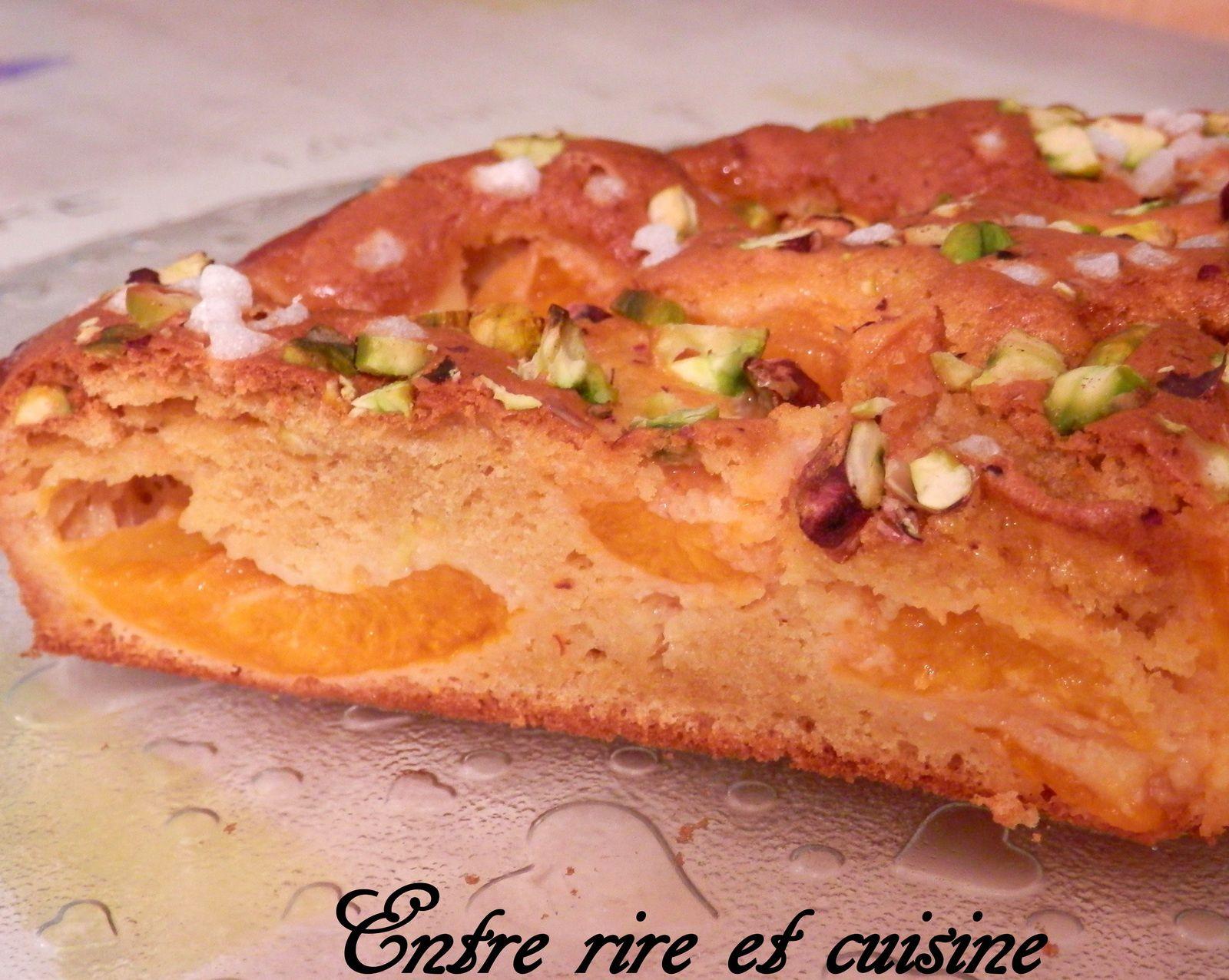 Gâteaux à l'Abricot et aux Pistaches