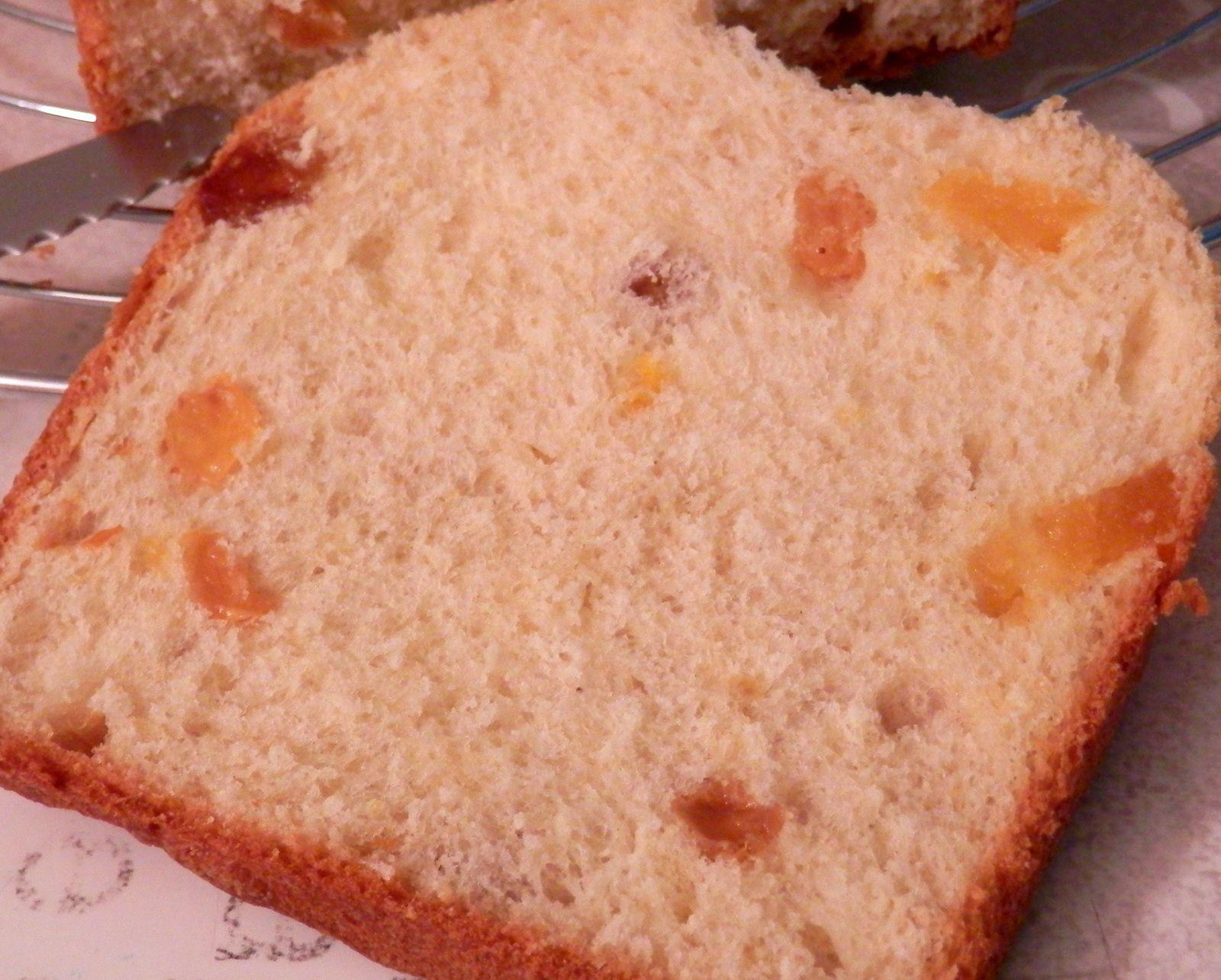 Brioche Abricots et Raisins secs
