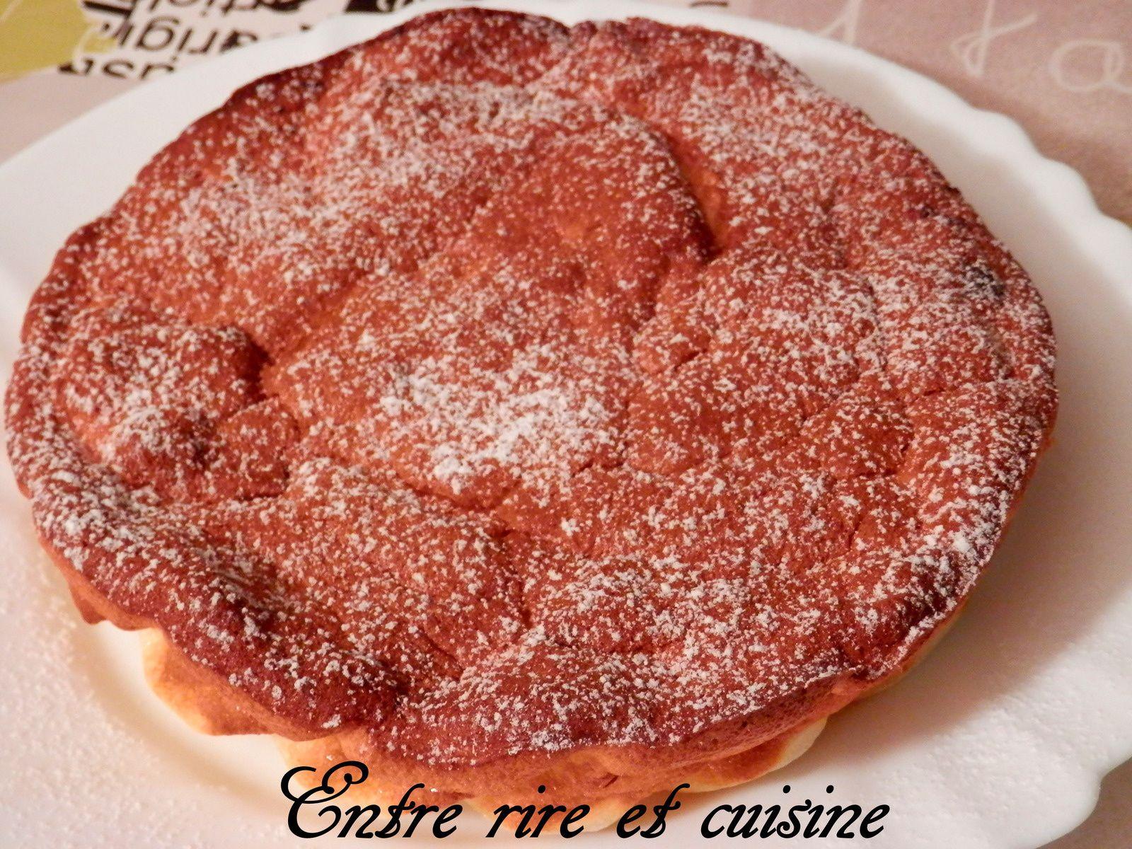 Gâteau Mousseline au Citron