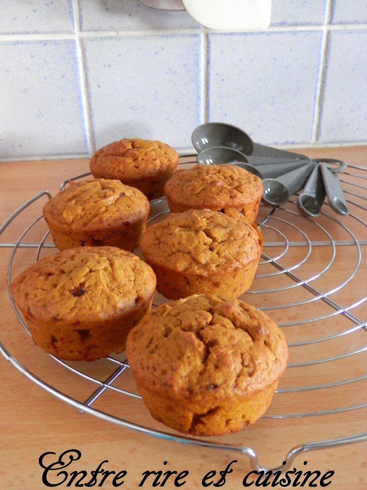 Passe-Plats entre amis #4 - Petits gâteaux moelleux au Potimarron (sans oeufs)