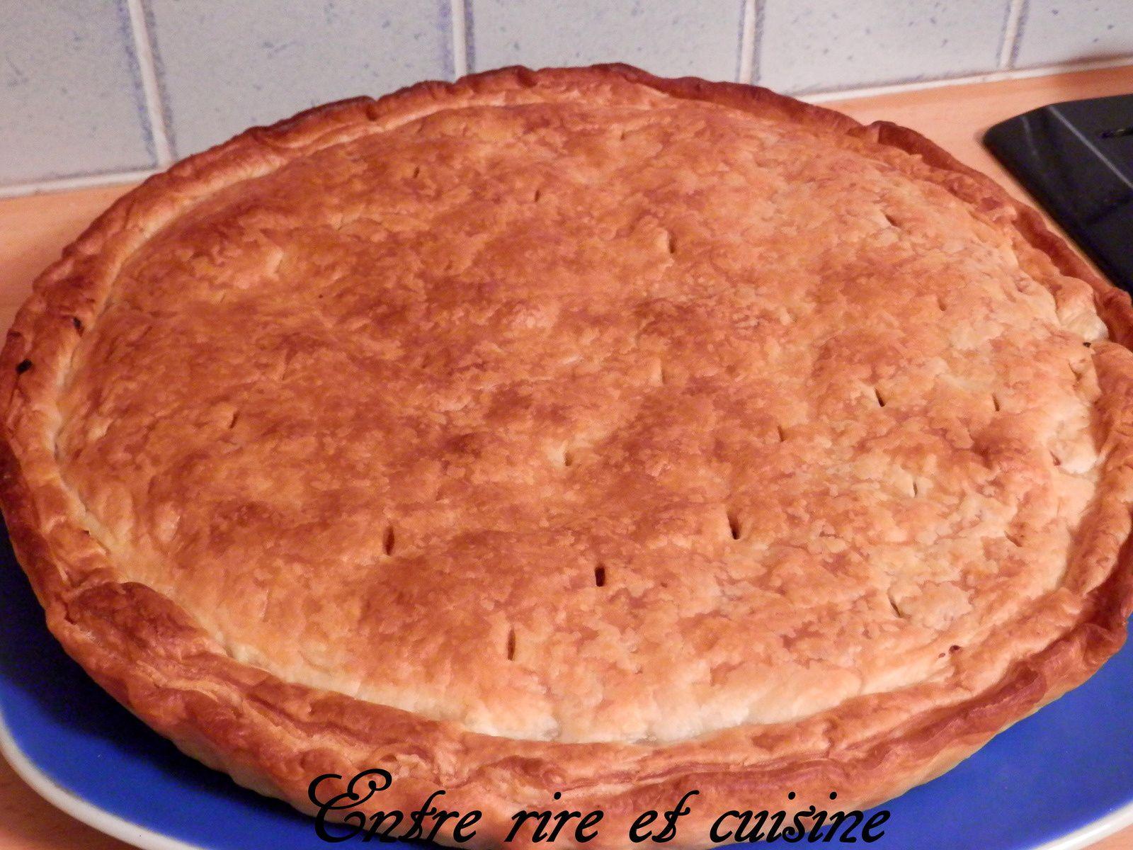 Galette-tarte aux Pommes, à la Frangipane et au Chocolat