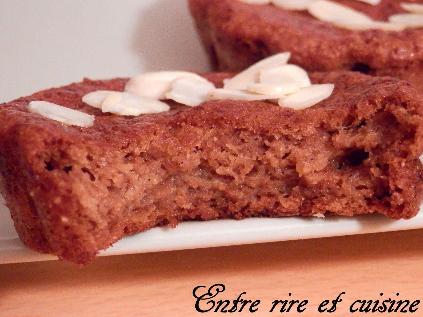 Mini-cakes à la Compote pomme/poire
