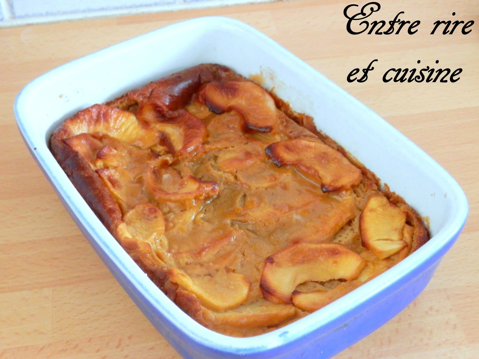 Clafoutis Pommes - Speculoos