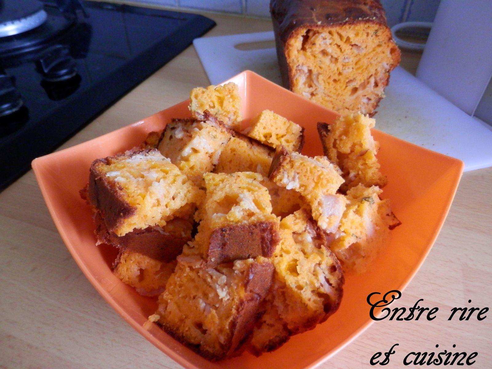 Cake Thon Et Tomate Seche