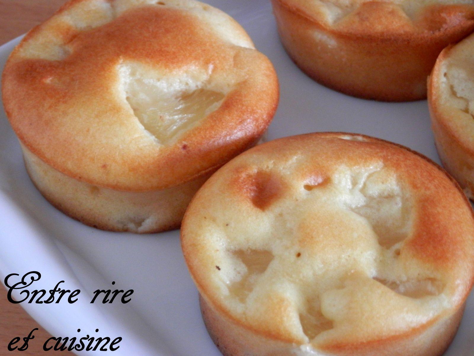 Gâteaux légers à l'Ananas