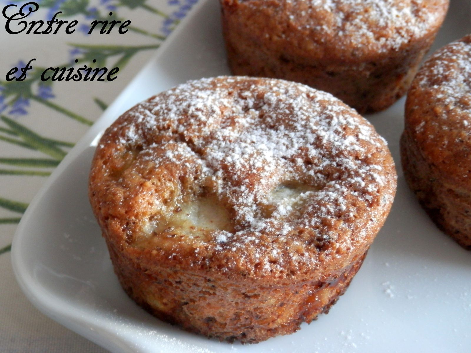 Muffins Nectarines/Noisettes