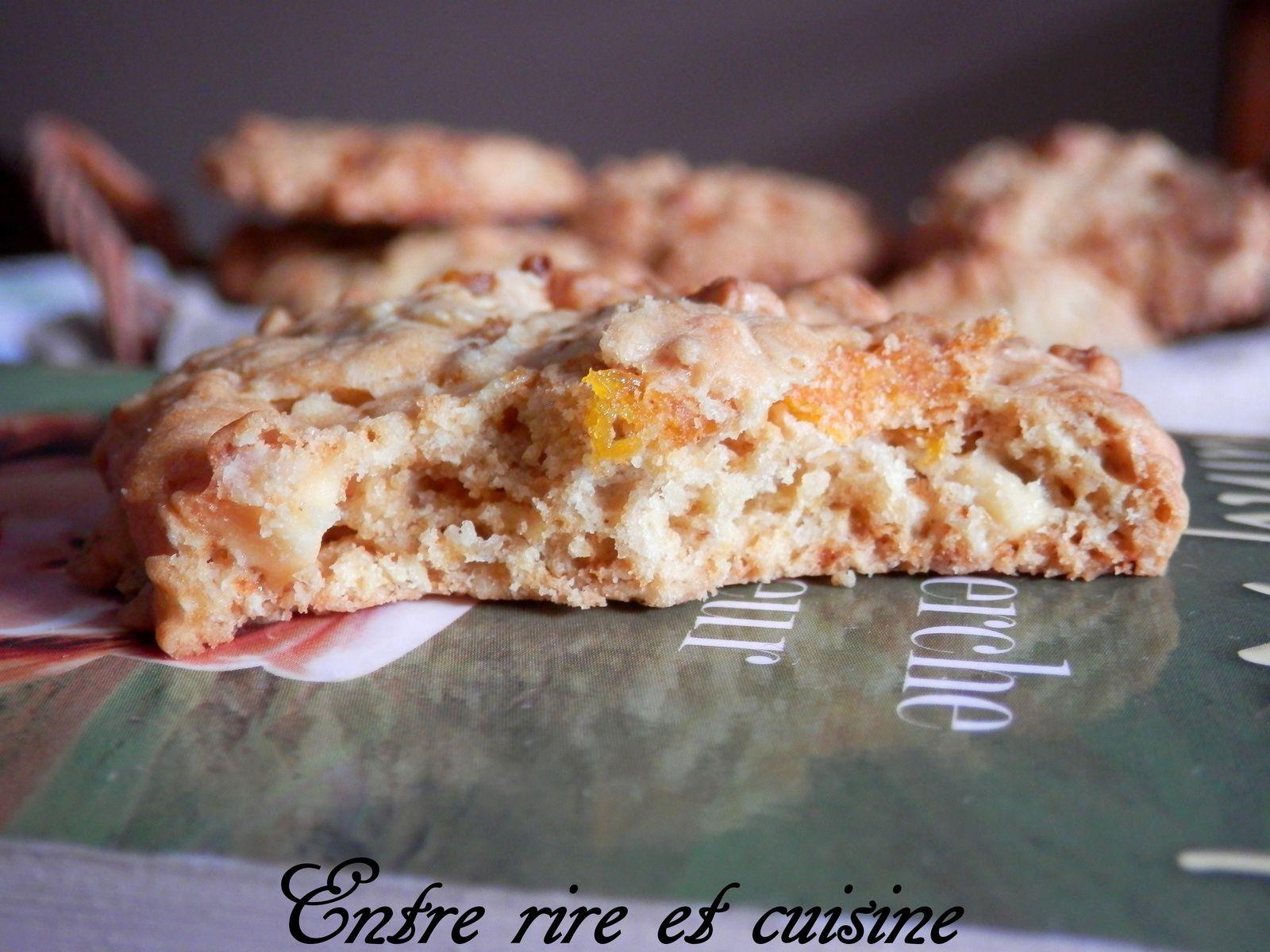 Cookies à l'abricot et au chocolat blanc