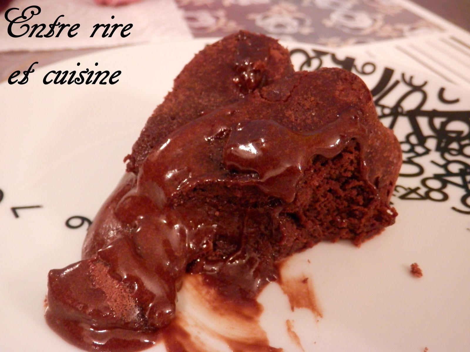Fondant au Chocolat qui coule, tout simple...mais tellement bon !