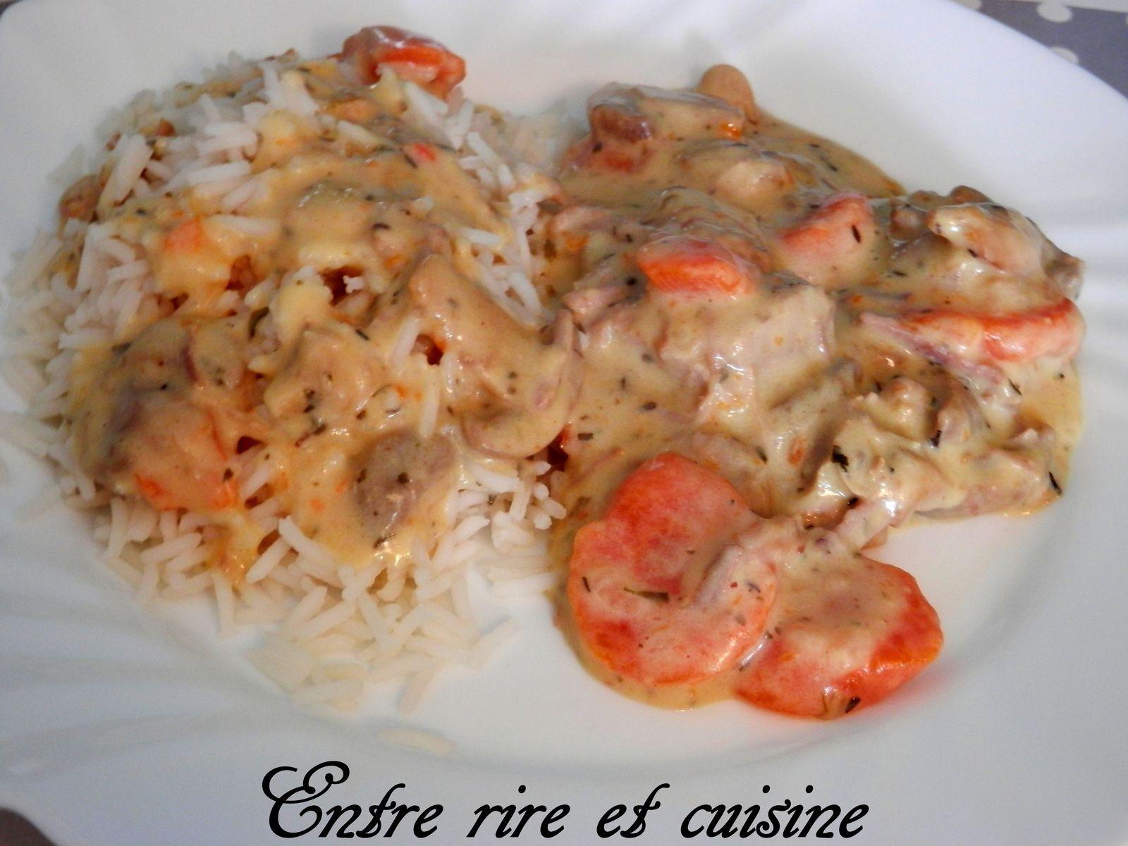 Filet mignon de porc fa on blanquette entre rire et cuisine - Entre rire et cuisine ...