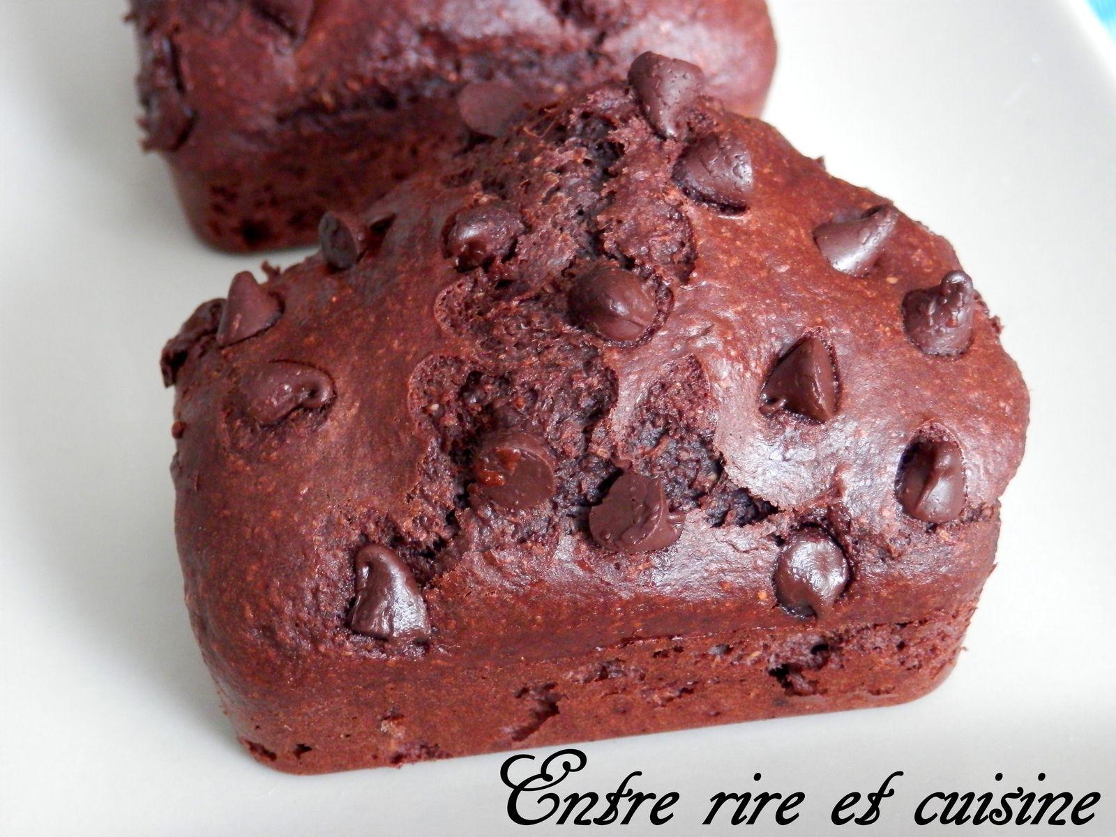 Petits cakes cacao et Nutella