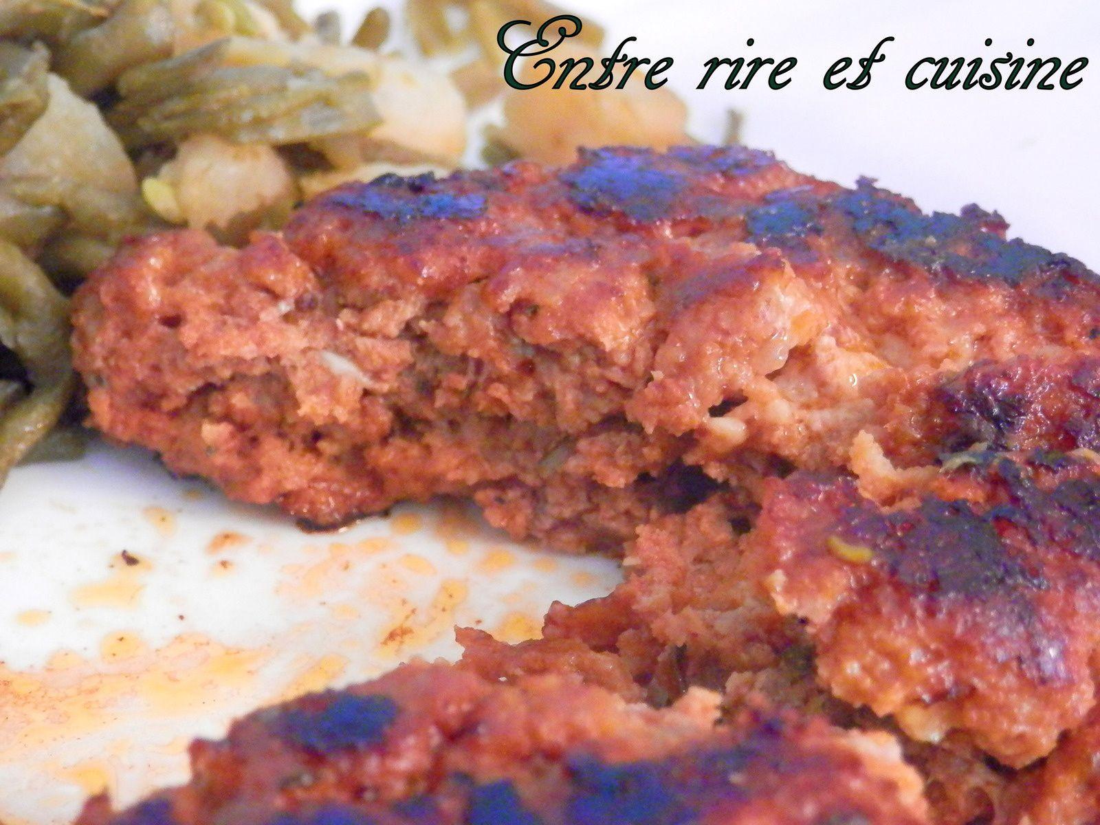 Steaks tendres de porc tomaté maison