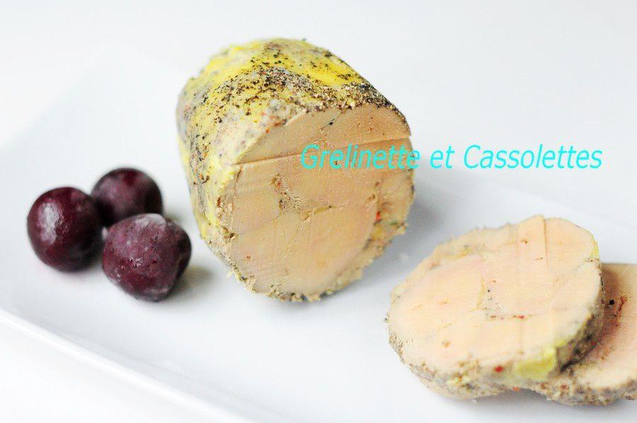 Foie gras en Ballotin
