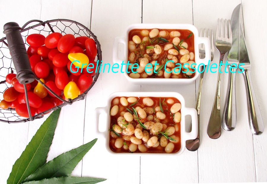 Cocos de Paimpol à la Tomate et aux Aromatiques