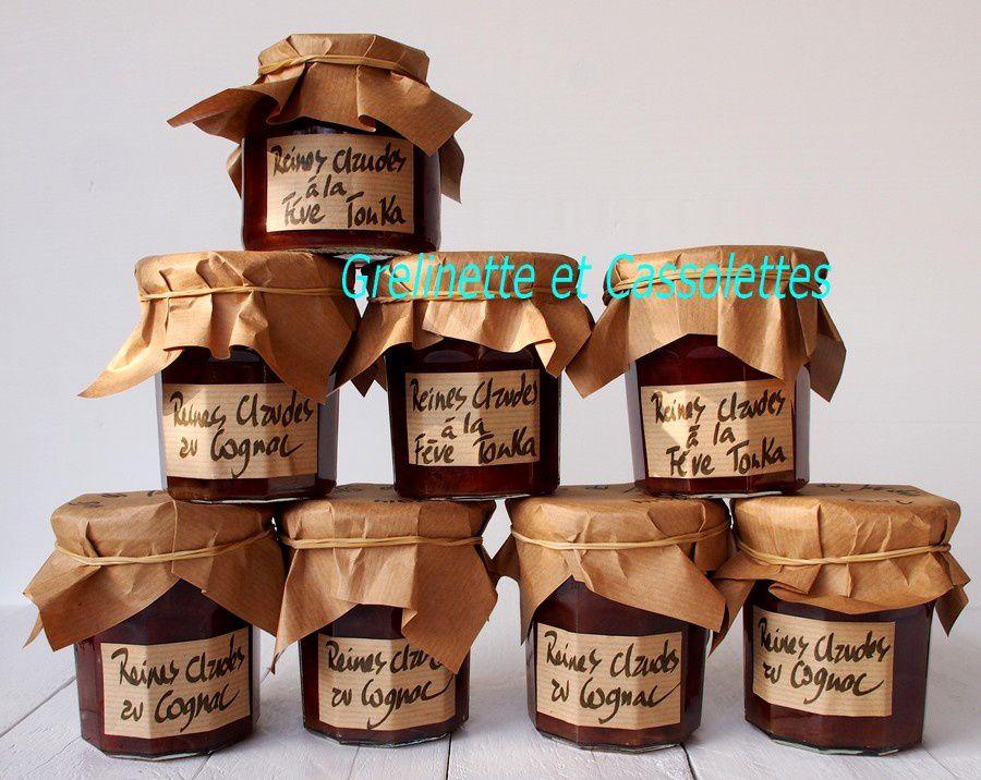 Confitures de Reines Claudes au Cognac