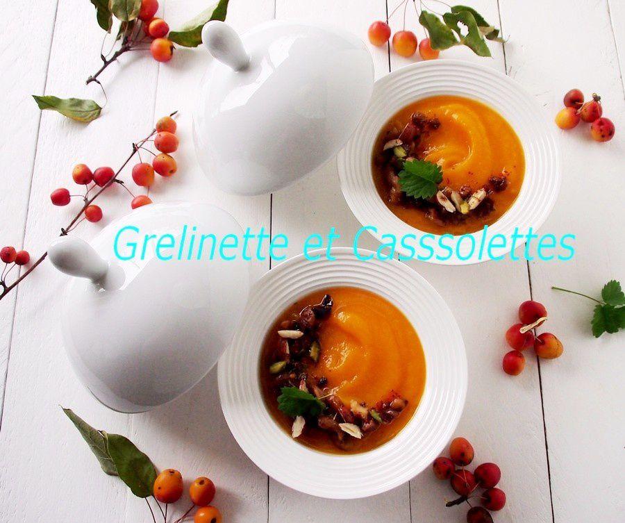 Mousseline de Butternut aux Châtaignes et Miso