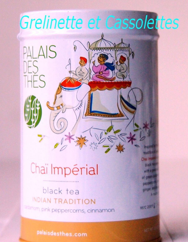 Le Thé Chaï Impérial du Palais des Thés