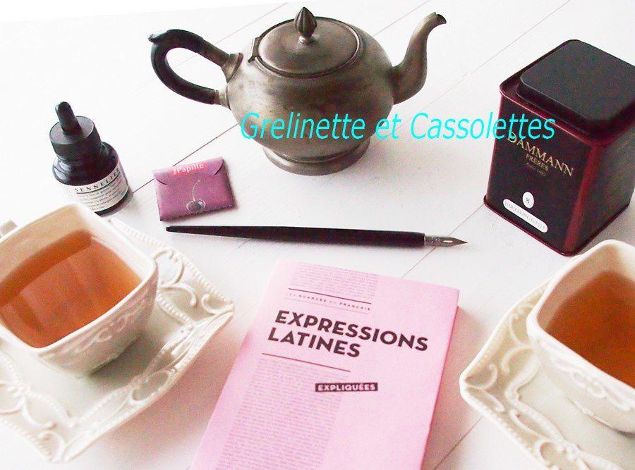 Expression Latines ...Expliquées