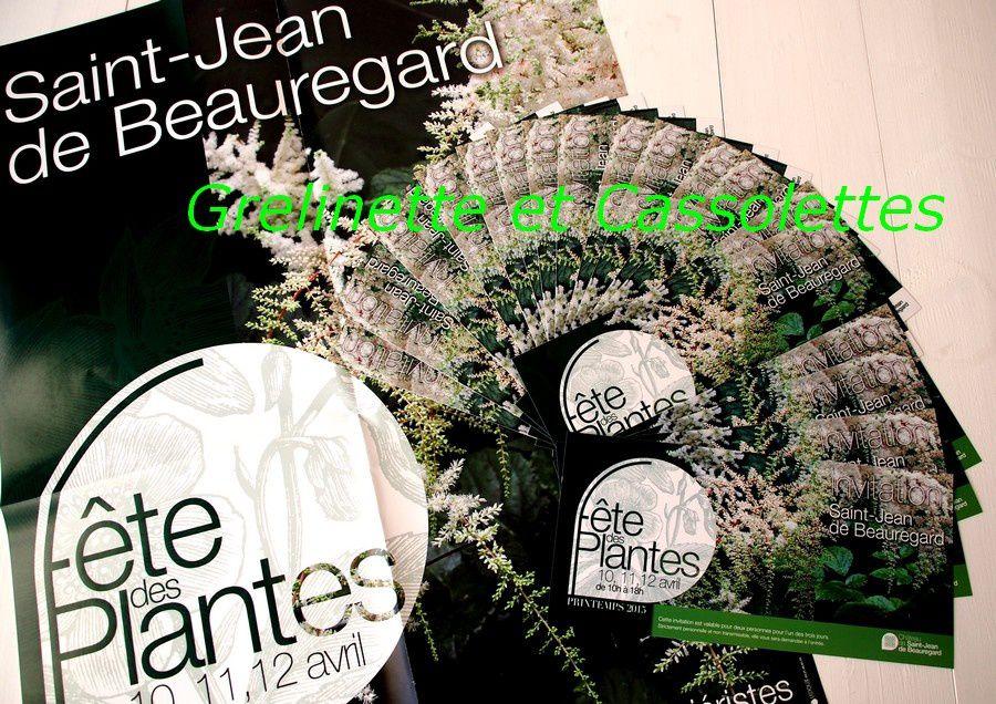 Qui veut gagner ses entrées à la Fête des Plantes de Saint Jean de Beauregard ?