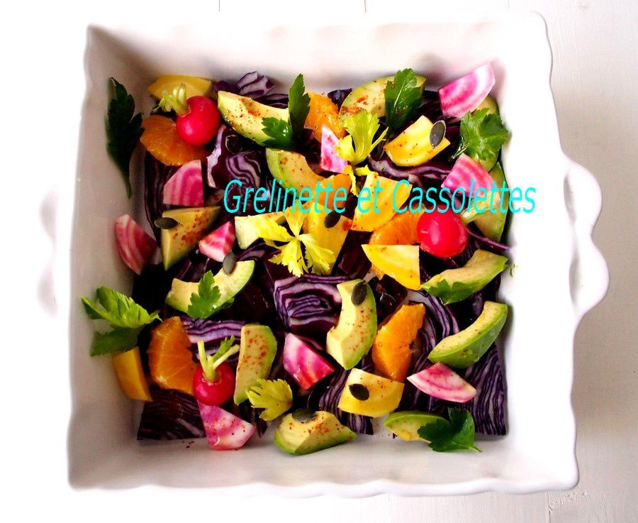 Salade Tonique Raw Food