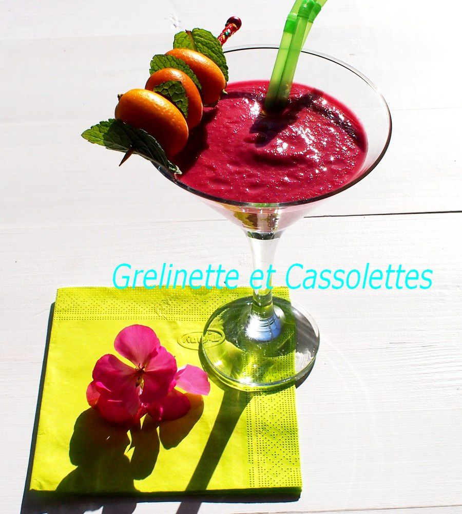 Smoothie Betterave, Agrumes, tonique et doudou