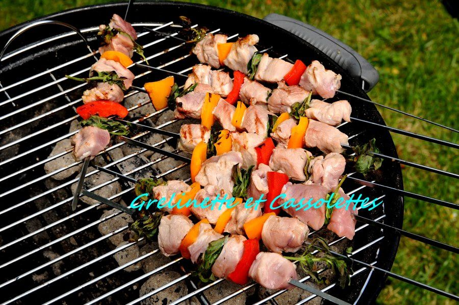 Brochettes de Filet Mignon au Weber