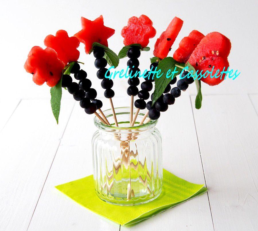 Bouquets de Pastèque et Myrtilles