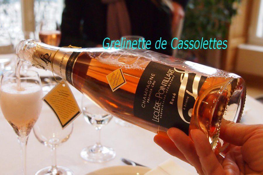 differente bouteille de champagne