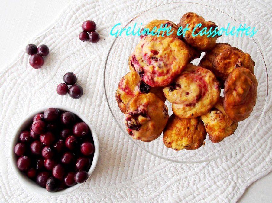 Cookies aux Cranberries Fraîches et à la Fève Tonka