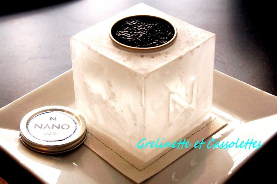 Huîtres et Beurre de Caviar de Neuvic