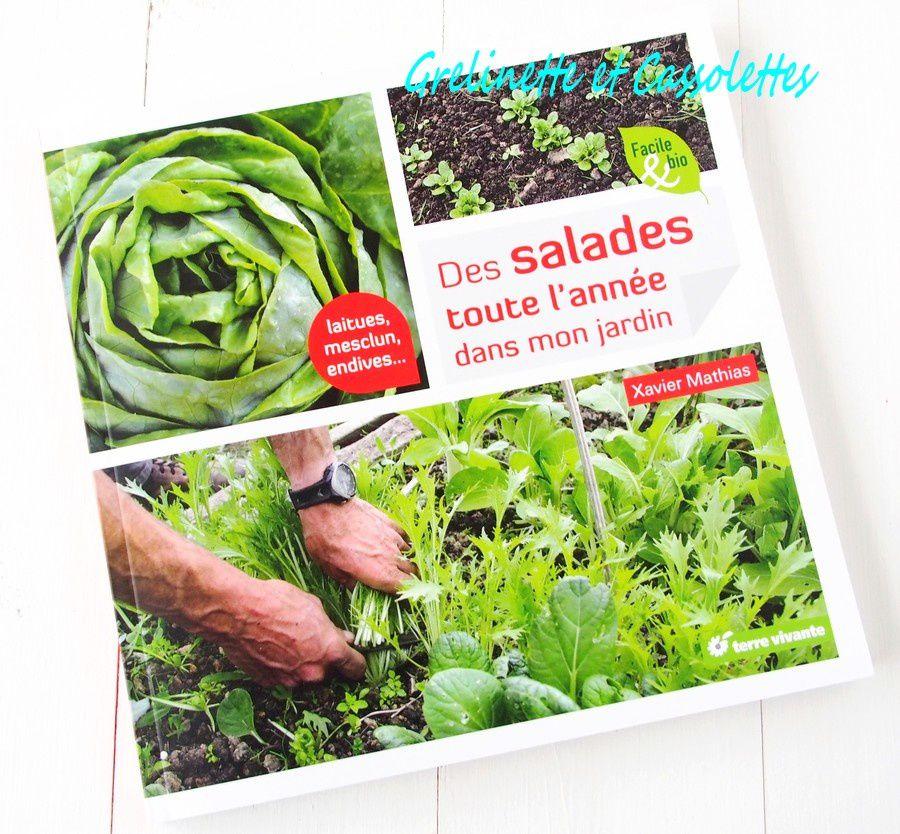 des salades toute l 39 ann e dans mon jardin grelinette et cassolettes. Black Bedroom Furniture Sets. Home Design Ideas