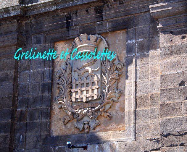 Armoiries de Saint Malo sur les remparts