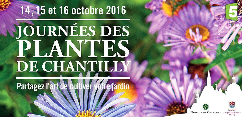Qui veut gagner ses entrées aux Journées des Plantes de Chantilly ?